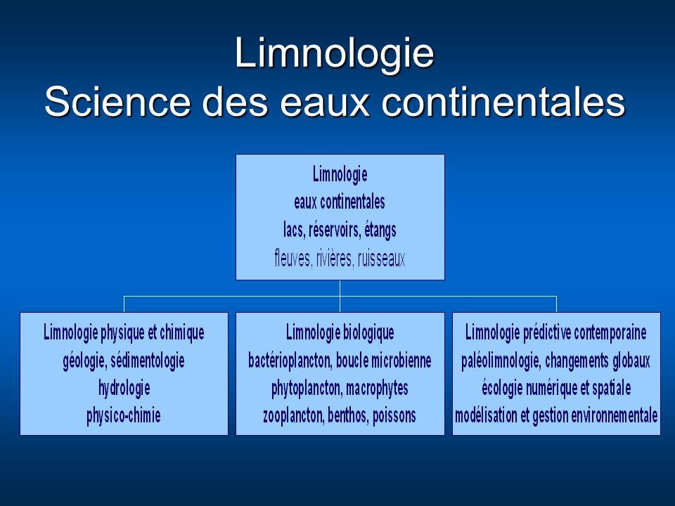 Limnologie Science des eaux continentales