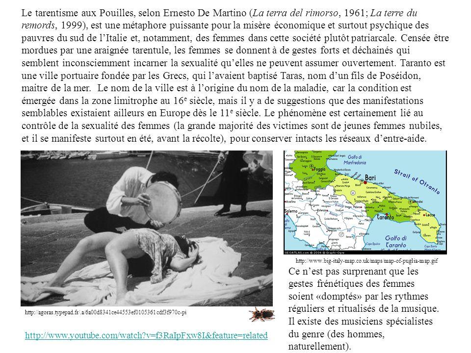 http://agoras.typepad.fr/.a/6a00d8341ce44553ef0105361cdf3f970c-pi Le tarentisme aux Pouilles, selon Ernesto De Martino (La terra del rimorso, 1961; La