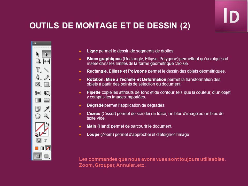 CRÉATION DUN NOUVEAU DOCUMENT La première étape de la conception dun ouvrage consiste à créer un nouveau document et à configurer ses pages, choisir le format, lorientation, pages en vis-à-vis.