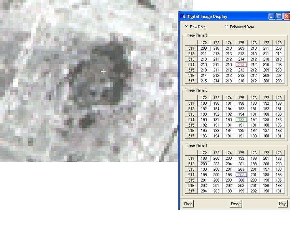 Les images du rayonnement émis: les images TIR (5 bandes) dASTER ASTER: VIS IRT