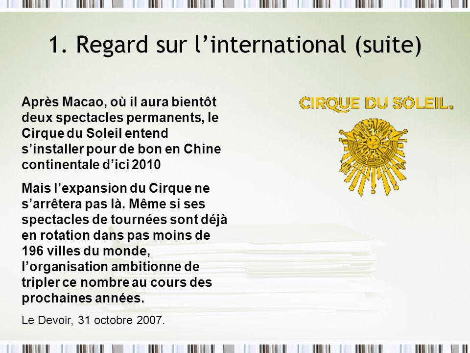 Source: données recueillies du journal Les Affaires, (1997) N=313, 62,27% 1.