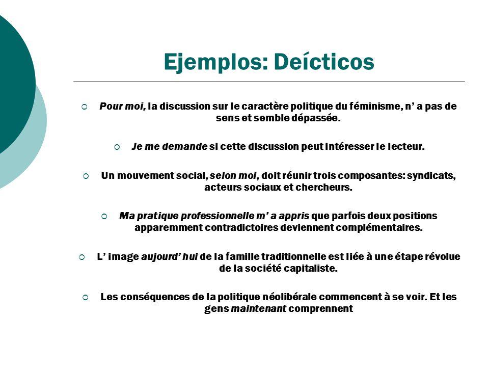 Ejemplos: Campos y redes semánticos Pour être démocratique, la réforme du droit doit s adapter aux contextes nationaux.