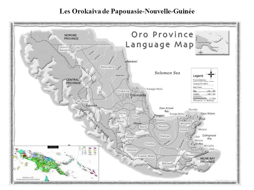 Les Orokaiva de Papouasie-Nouvelle-Guinée