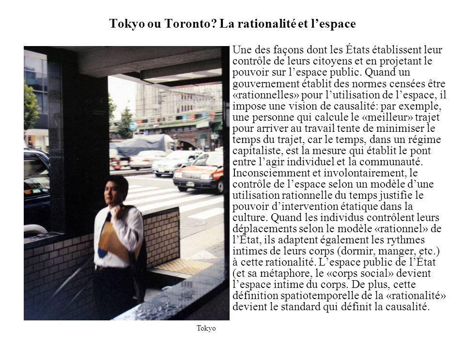 Tokyo ou Toronto.