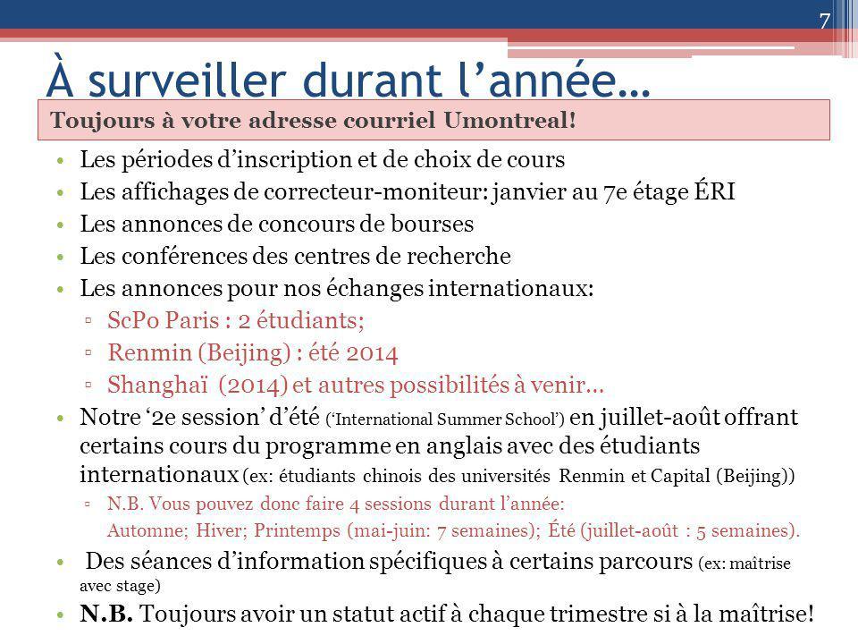 Merci! Jean Charest Directeur et responsable des programmes RI de 2 e cycle 8 Vos questions?