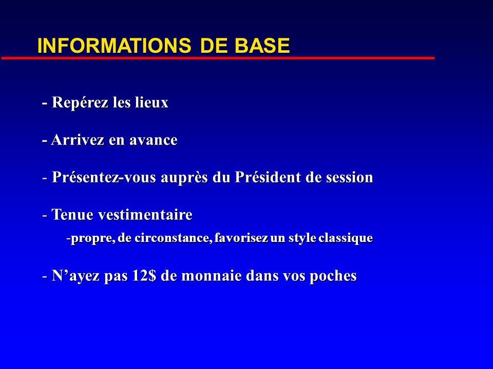 PRÉSENTATION ORALE INSTITUT DE CARDIOLOGIE DE MONTRÉAL