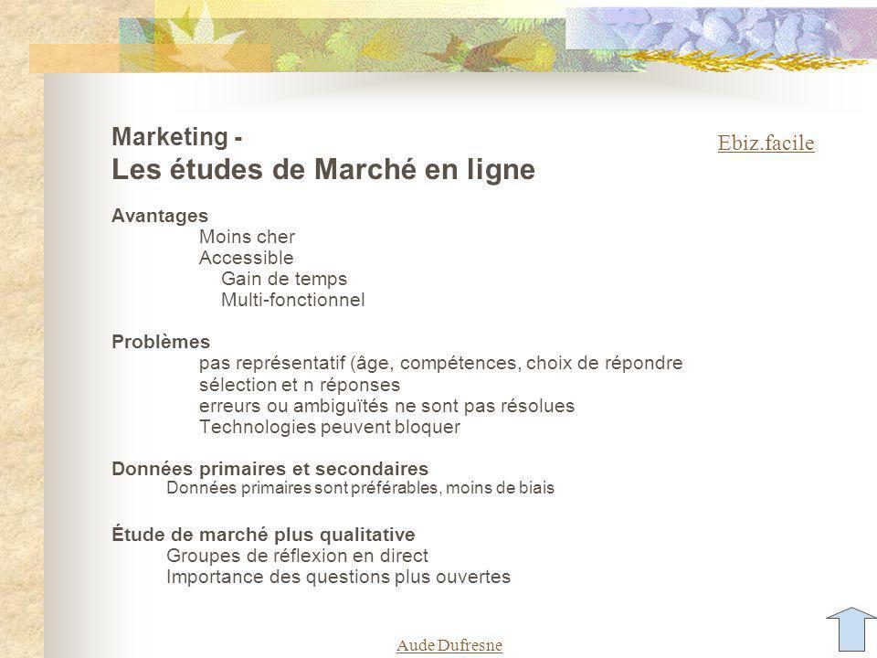 Évaluer la valeur relative des réseaux sociaux Selon le média : Évènements, ventes, pages vues, sessions Aude Dufresne