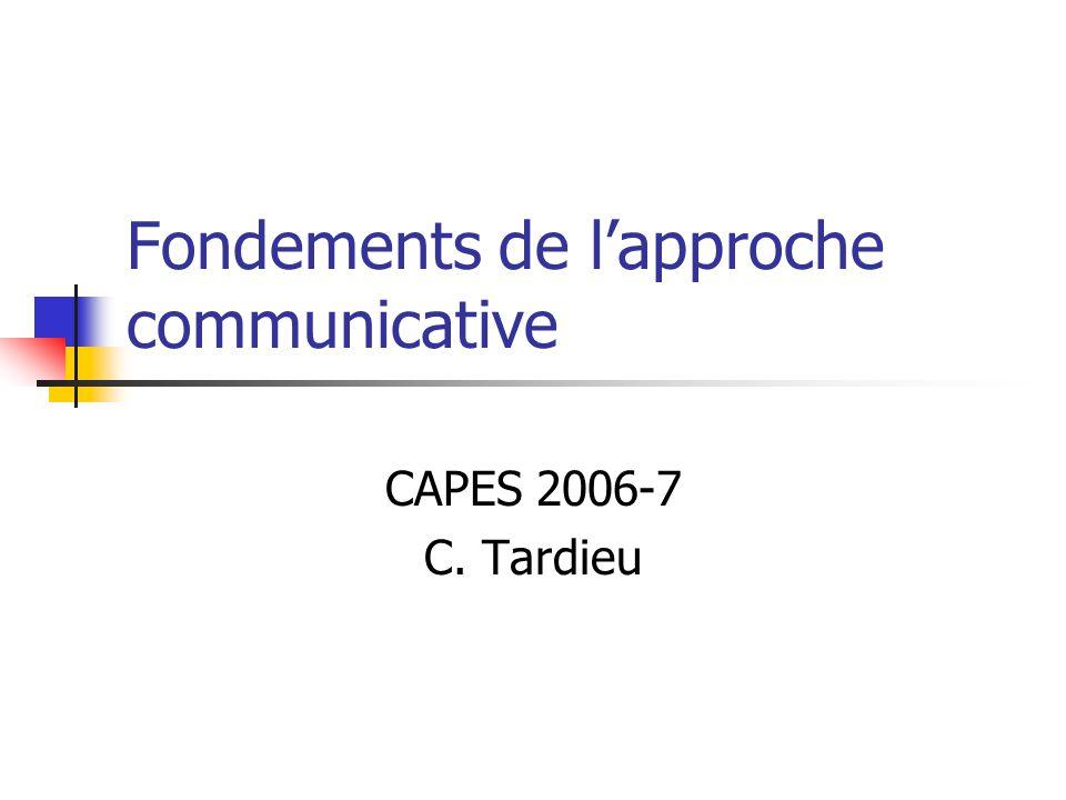 Lapport de Widdowson: de la langue au discours….