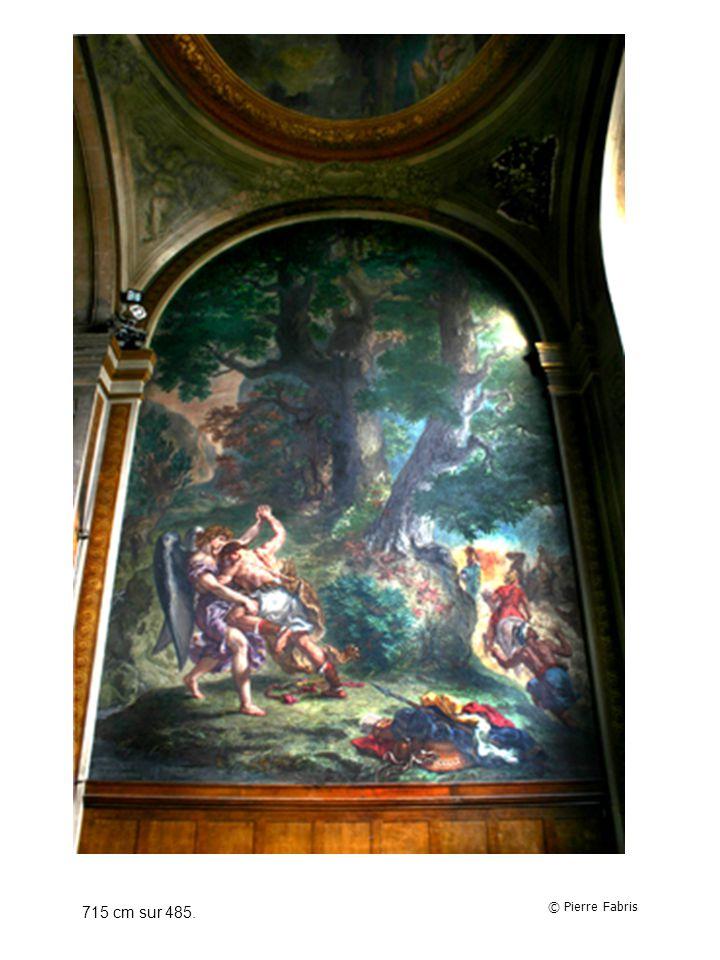 Second indice : La peinture a été réalisée par Delacroix dans léglise Saint-Sulpice à Paris et sintitule La lutte de Jacob avec lAnge.