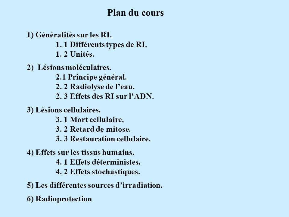 Conséquences dune diminution des cellules circulantes : Granulopénie => infections Thrombopénie => hémorragies Anémie => pâleur cutanéo-muqueuse, asthénie, dyspnée...