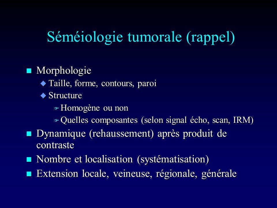 Nodule iso ou hypoéchogène Hypothèses … Affirmer le diagnostic …
