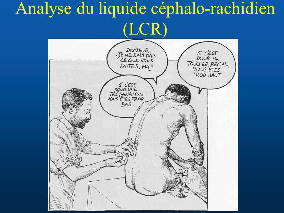 Analyse du liquide céphalo-rachidien (LCR)