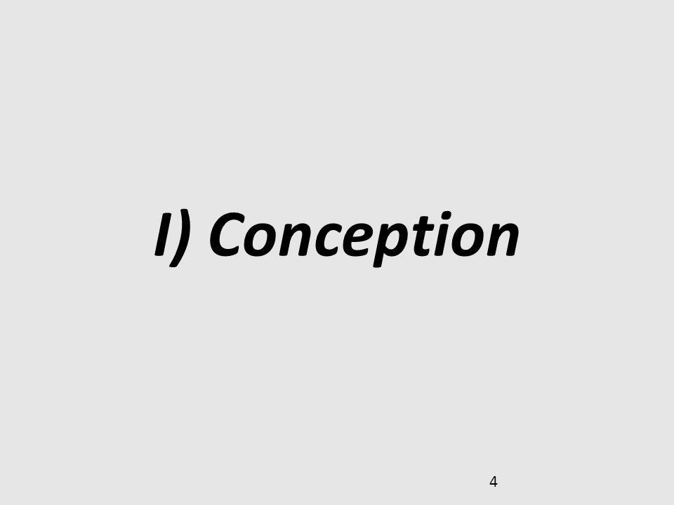 4 I) Conception