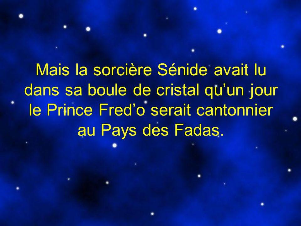 Sénide décida alors de jeter un sort au petit prince et de le condamner à dormir pour léternité.