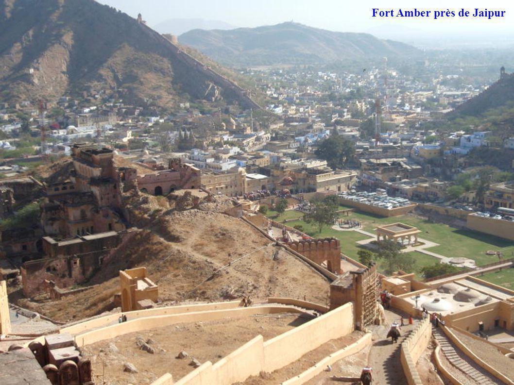 Fort Amber près de Jaipur