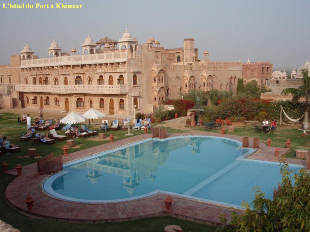 L'hôtel du Fort à Khimsar