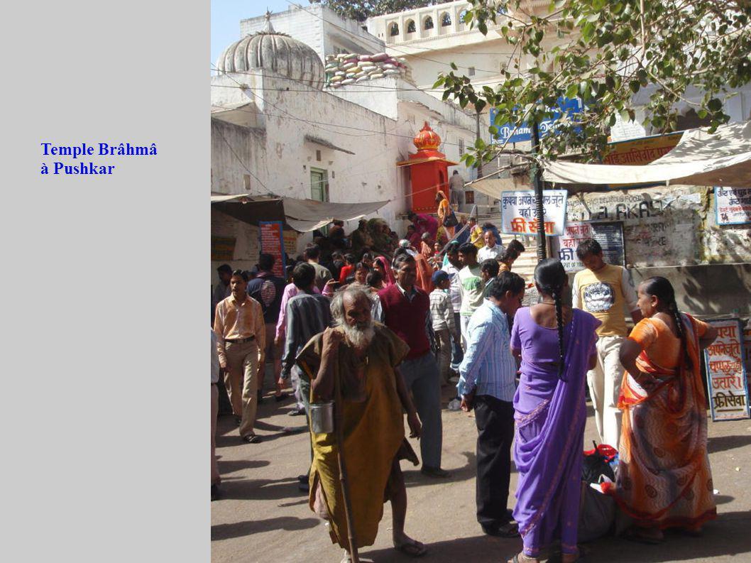 Temple Brâhmâ à Pushkar
