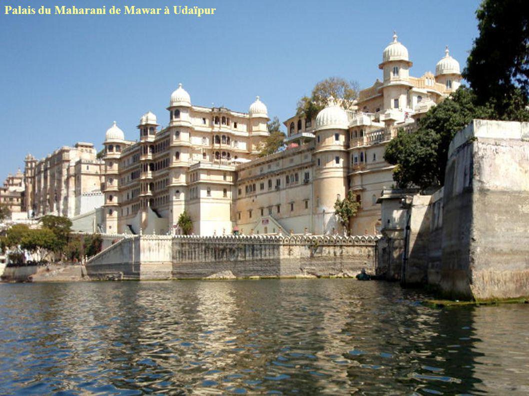 Palais du Maharani de Mawar à Udaïpur