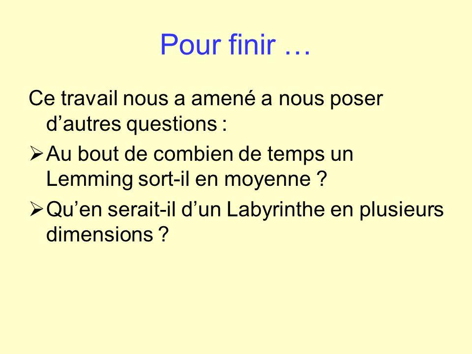Le Labyrinthe des Lemmings 0123456789…