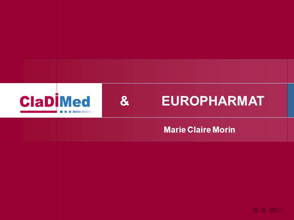 & Marie Claire Morin EUROPHARMAT
