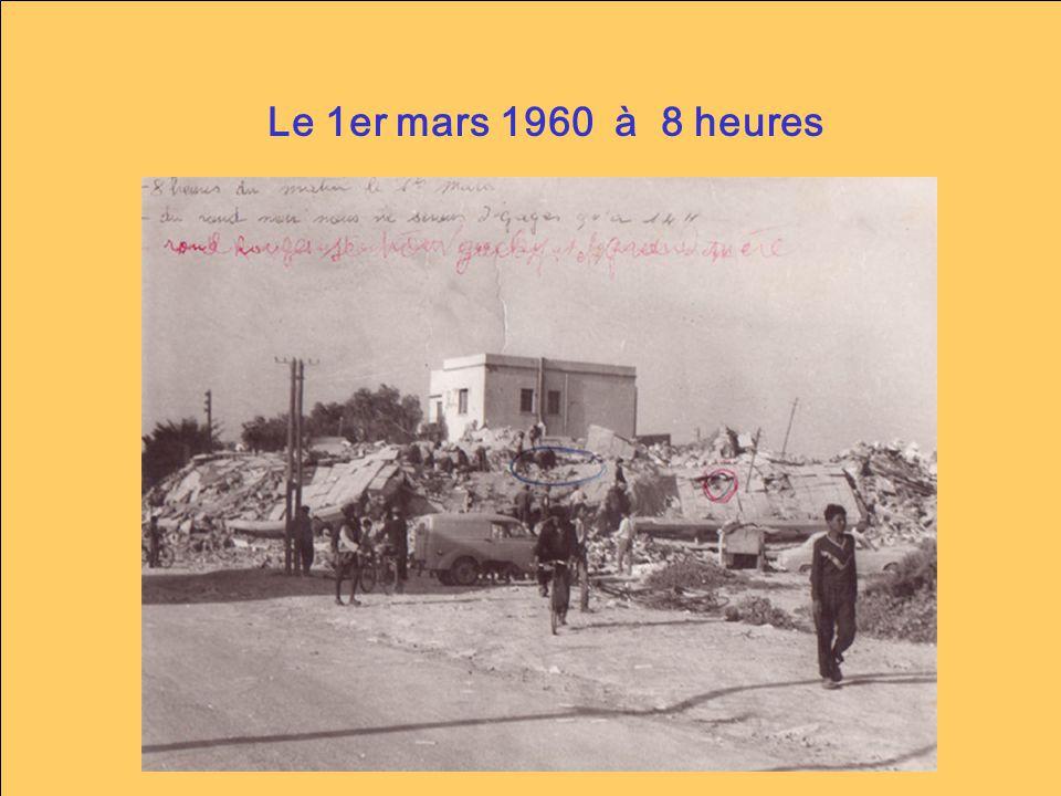 « Le séisme dAgadir est pour moi lun des meilleurs exemples - sur le plan didactique – pour construire les notions de bases sur les séismes … » A.