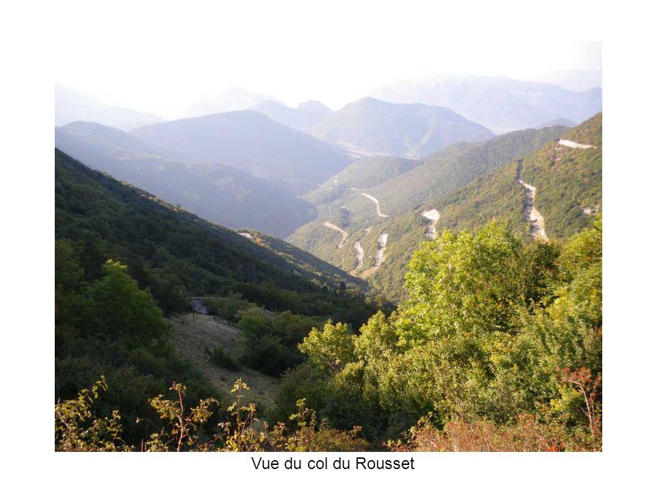 Vue du col du Rousset