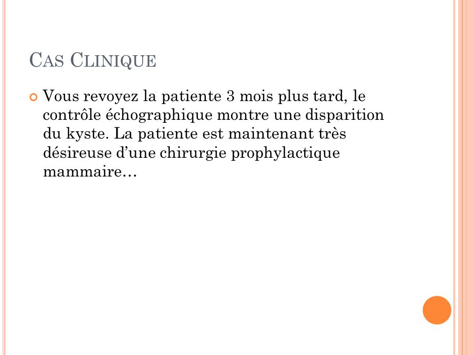 L A CHIRURGIE PROPHYLACTIQUE RÉDUIT SIGNIFICATIVEMENT LE RISQUE DE CANCER Bilateral Prophylactic Mastectomy Reduces Breast Cancer Risk In BRCA1 And BRCA2 Mutation Carriers : The PROSE Study Group.