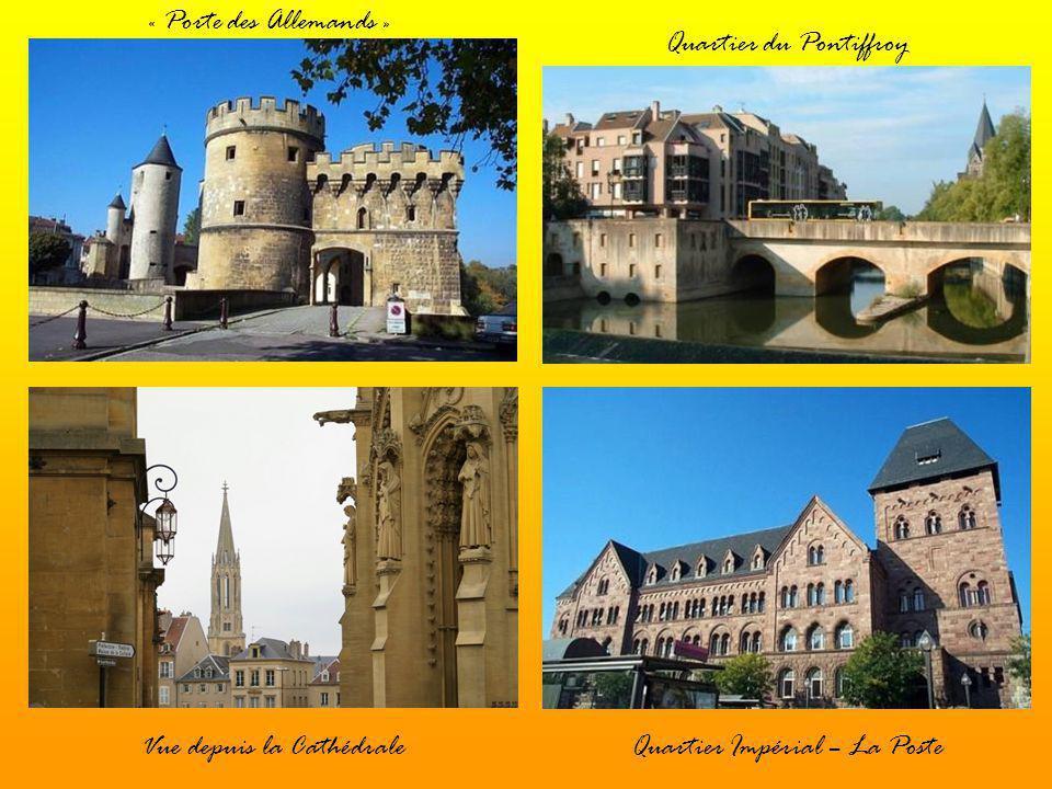 Le « Graoulli »Place du Théâtre « Porte des Allemands »Quartier du Pontiffroy