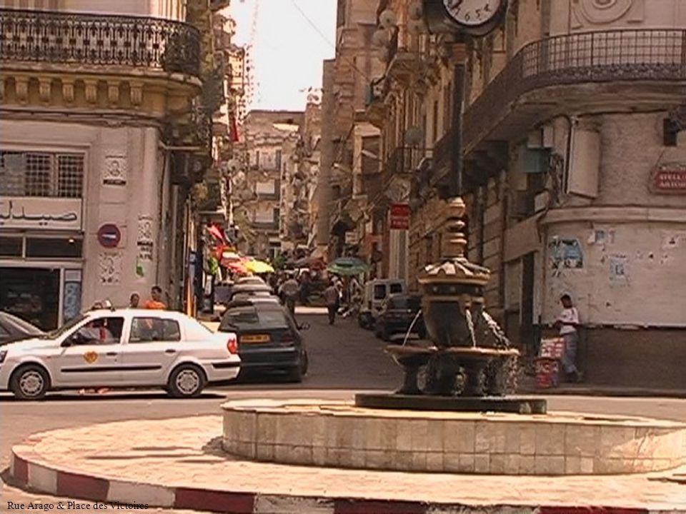 Rue Arago & Place des Victoires