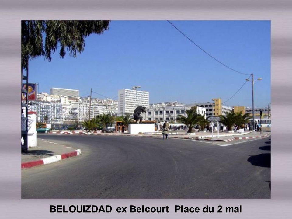 Rue Belouizdad ex rue de Lyon