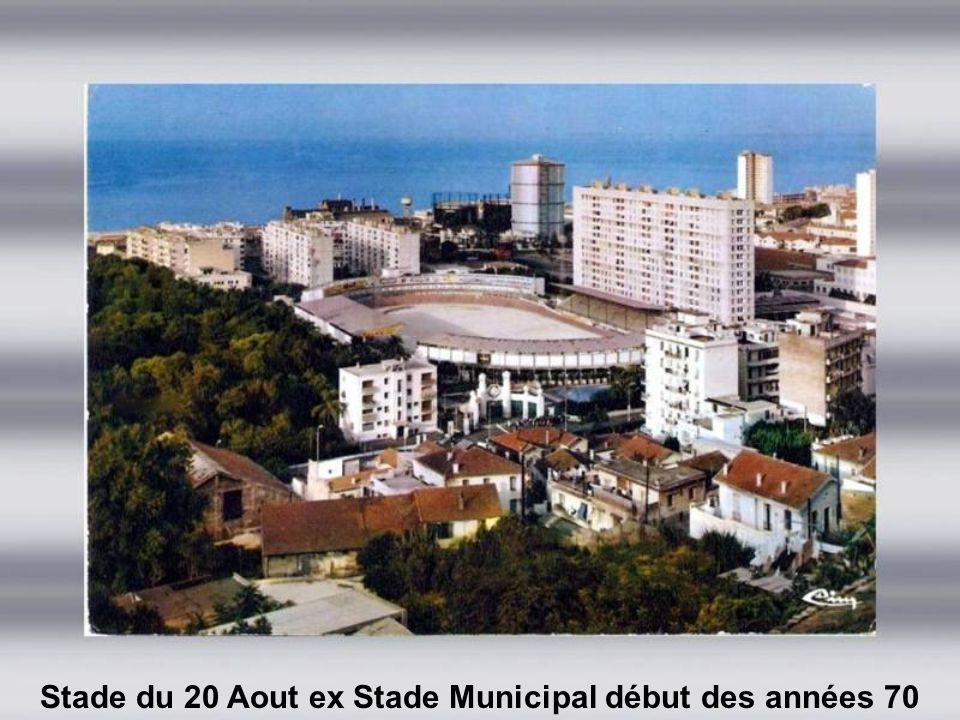 Stade Municipal début des années 60