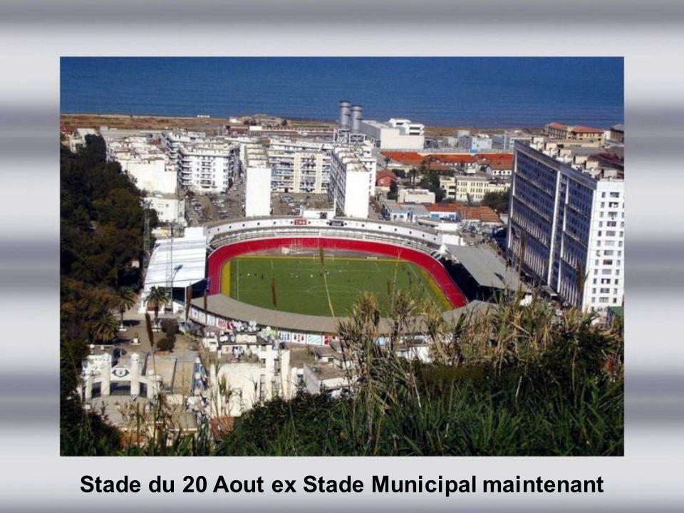Stade du 20 Aout ex Stade Municipal début des années 80