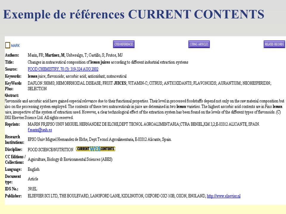 Choix des sous-ensembles de la période chronologique Votre recherche se fera aussi sur sur des sites Web sélectionnés Cocher la ou les disciplines à interroger Cocher la période à interroger