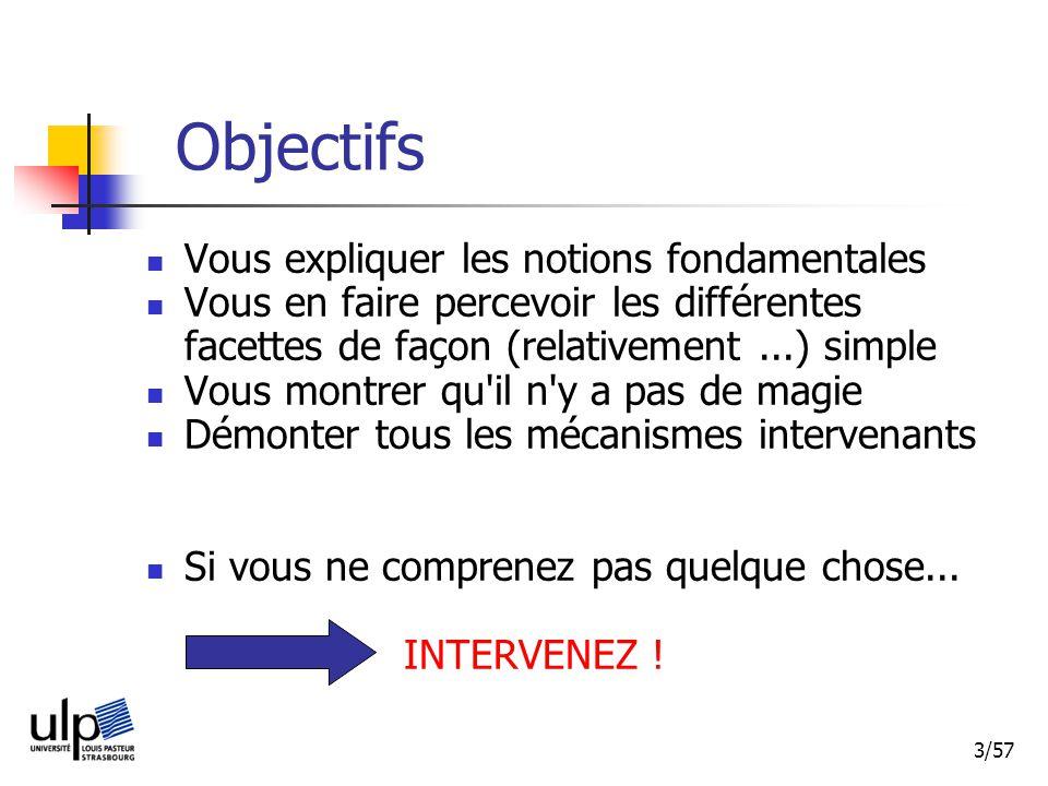34/57 Mémoriser hiérarchie mémoire : caractéristiques
