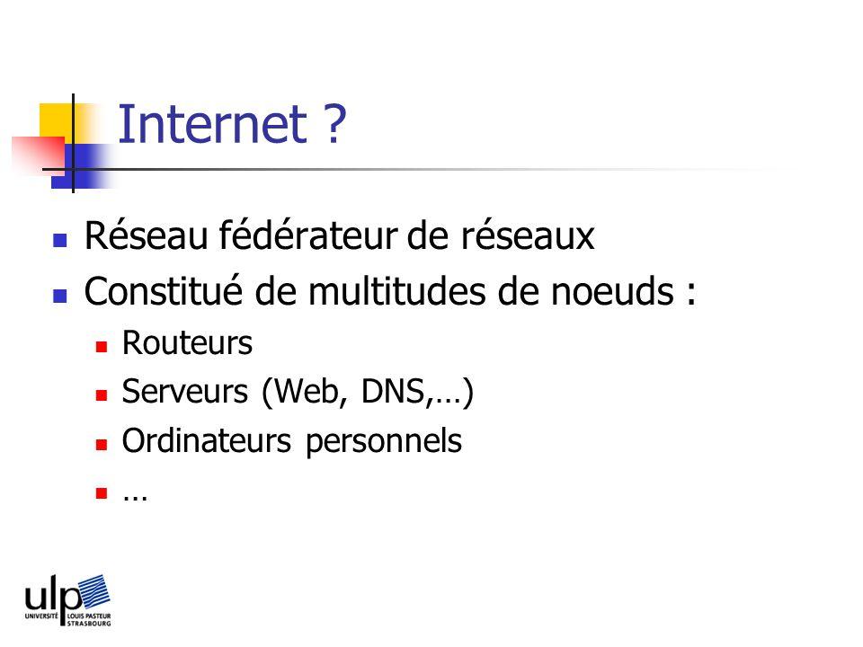 Internet .