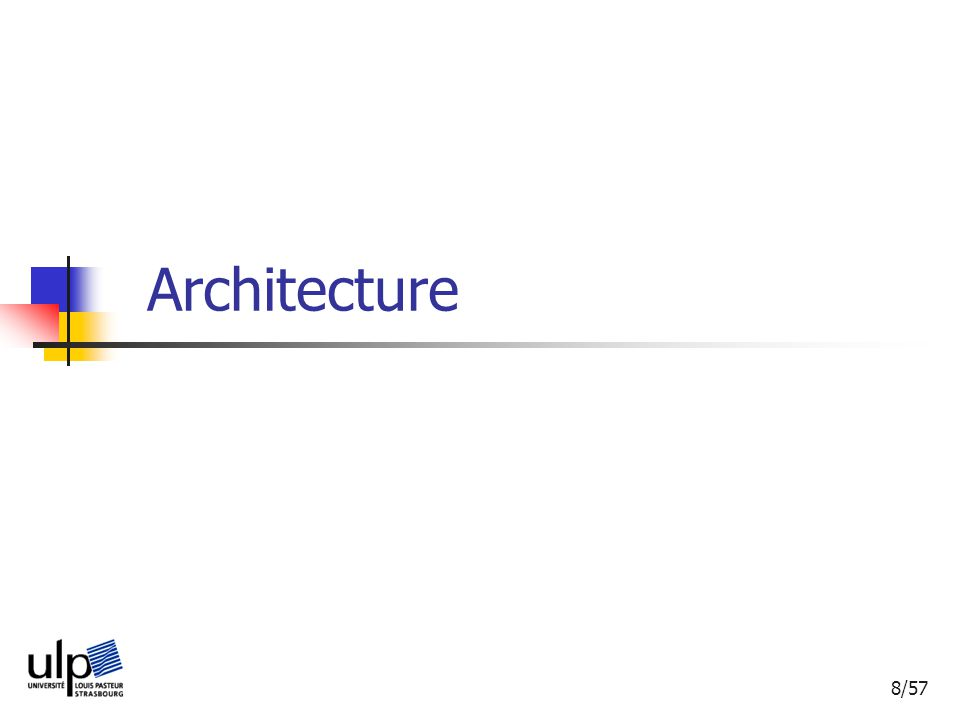 8/57 Architecture