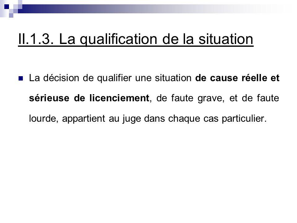 II.7.1.Procédure pour un licenciement économique La procédure à suivre varie selon qu il s agit d un licenciement individuel d un licenciement collectif.