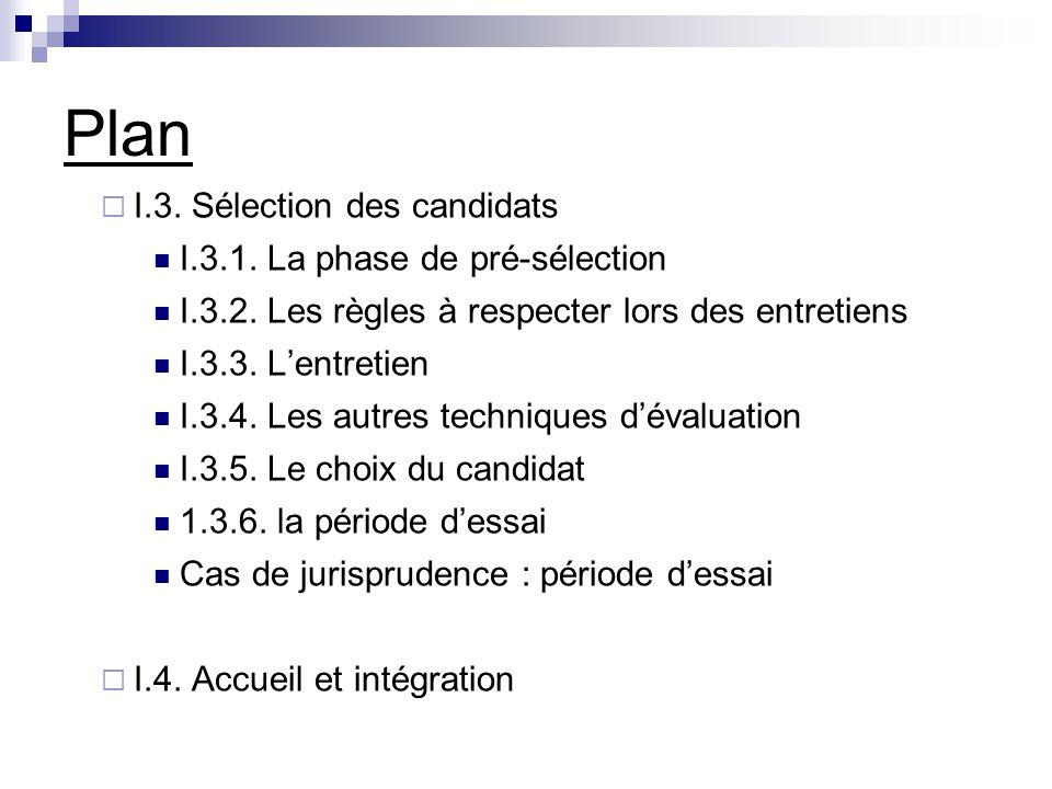 Plan 2.Le contrat de travail 2.1. La forme du contrat 2.2.
