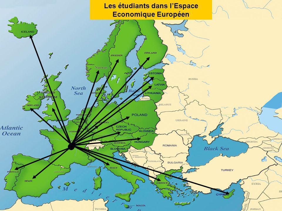 Les étudiants dans lEspace Economique Européen