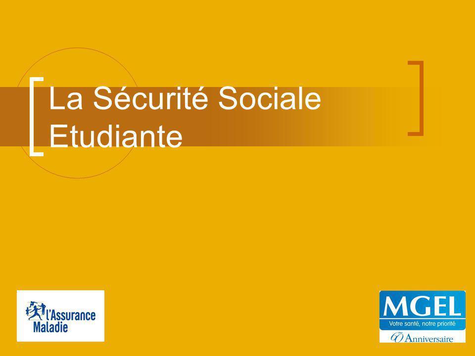 La Sécurité Sociale Etudiante