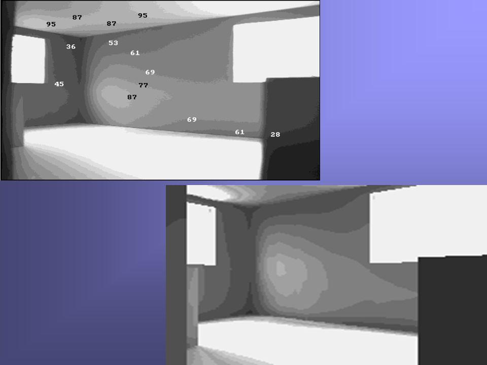 - 85 - Utilisation de la BRDF: Evaluation de la lumière réfléchie La BRDF est utilisée pour évaluer le comportement lumière-matière dune surface réelle.La BRDF est utilisée pour évaluer le comportement lumière-matière dune surface réelle.