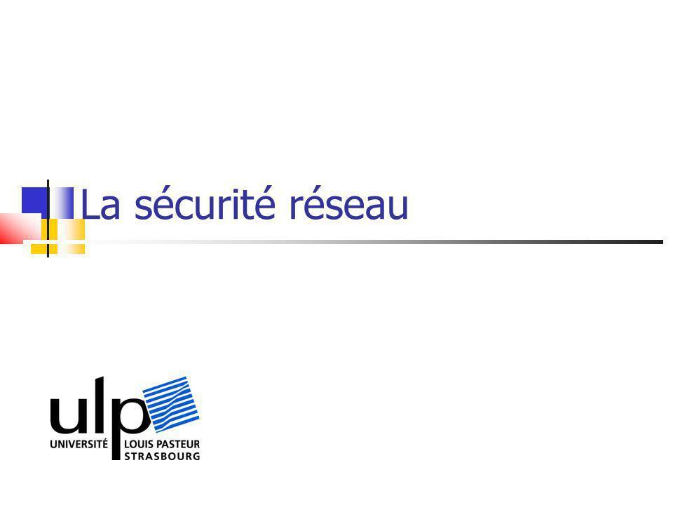 La sécurité réseau