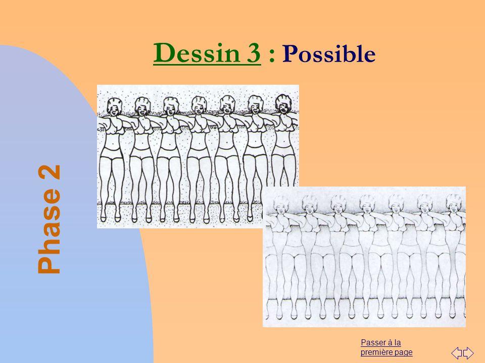 Passer à la première page Dessin 3 : Possible Phase 2