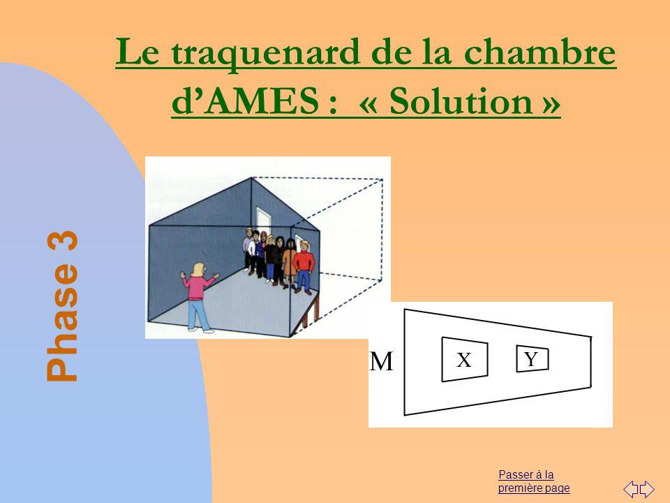 Passer à la première page Le traquenard de la chambre dAMES : « Solution » Phase 3