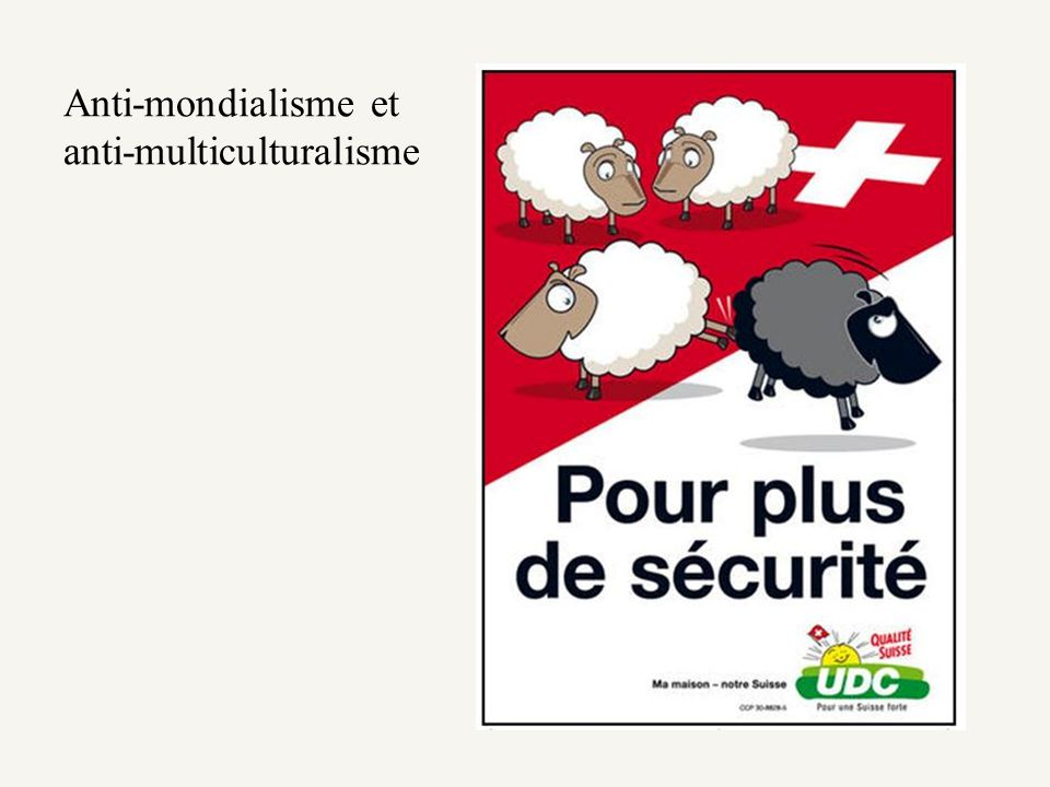 Anti-mondialisme et anti-multiculturalisme