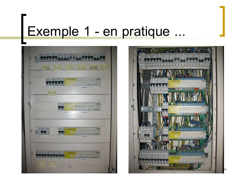 15 Exemple 1 - en pratique...