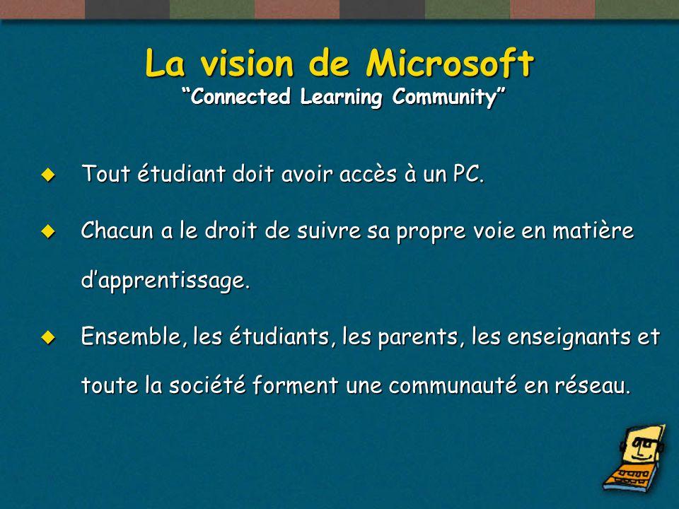 Une vision Une communauté académique en réseau