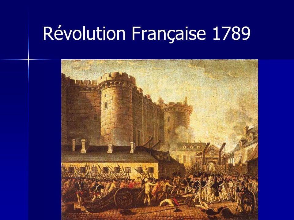 Révolution Française 1789