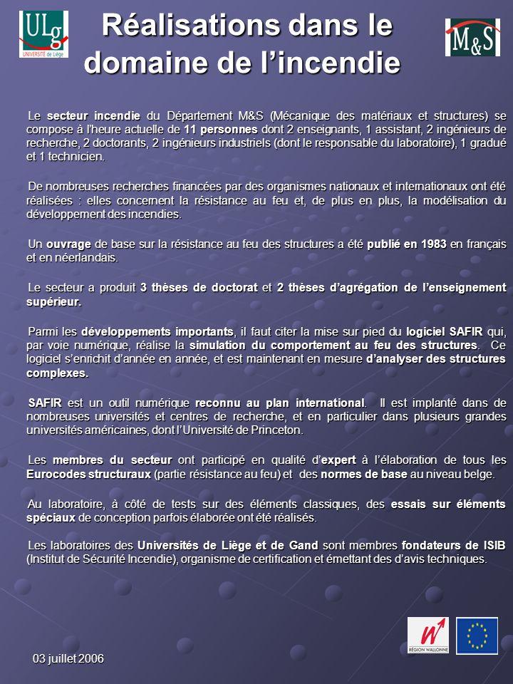 03 juillet 2006 Perspectives Le laboratoire est confronté à un problème immédiat, fondamental et urgent : laccréditation.