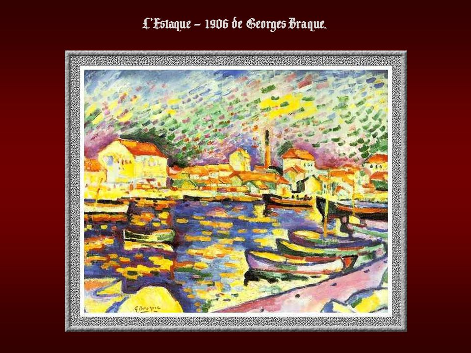 LEstaque – 1906 de Georges Braque.
